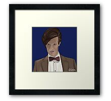 Doctor Who? 11th Doctor Framed Print