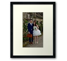Happy is the bride - no, not really!!!! Framed Print