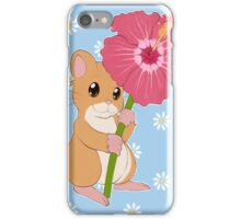 Hamster Hibiscus iPhone Case/Skin
