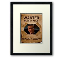 Buffy Giles Wanted 3 Framed Print