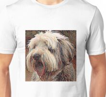 Bearded Collie - A Portrait in Oil Unisex T-Shirt