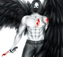 An Angel of Death by TEAMJUSTICEink