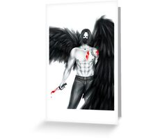 An Angel of Death Greeting Card
