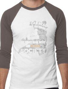 BOOK - SOCIETY Men's Baseball ¾ T-Shirt