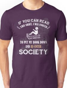 BOOK - SOCIETY Unisex T-Shirt