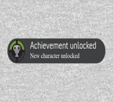 achievement unlocked New Character Unlocked One Piece - Short Sleeve