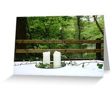 Wedding in the Glens Ireland Greeting Card