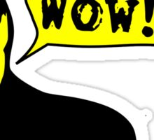 Walken: Wowie Wow Wow! Sticker