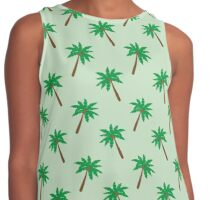 Palm Tree #1 Contrast Tank