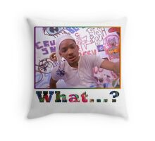 Fresh Prince Waking Up Throw Pillow