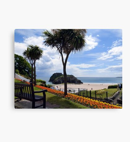 The View  of St Catherines Island Canvas Print