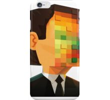 pixel head iPhone Case/Skin
