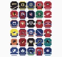 8-Bit Hockey Jerseys Kids Clothes