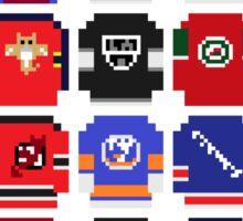 8-Bit Hockey Jerseys Sticker