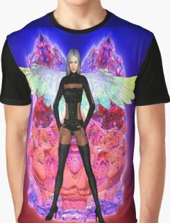 Party Angel Graphic T-Shirt