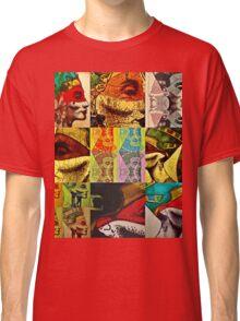 Nefertiti Collage 15 Classic T-Shirt