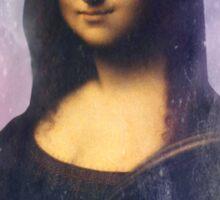 Mona Lisa Flower Crown Sticker