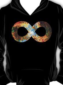 Heart and Soul Nebula   Infinity Symbol   Fresh Universe T-Shirt