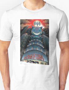 The Bat, The Cat, The Penguin Unisex T-Shirt