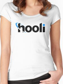 Hooli  Women's Fitted Scoop T-Shirt
