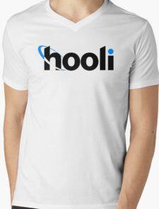 Hooli  Mens V-Neck T-Shirt