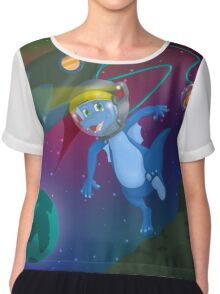 Rory in Space Chiffon Top