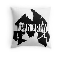 Thad Army Throw Pillow