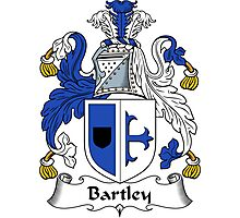 Bartley Coat of Arms / Bartley Family Crest Photographic Print