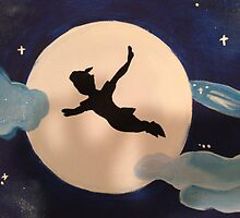 Peter Pan's Flight by kklile12
