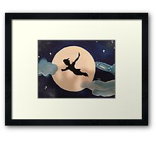 Peter Pan's Flight Framed Print