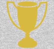 Yellow gold trophy Kids Tee