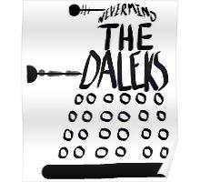 Never Mind the Daleks Poster