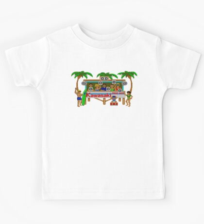 CALIFORNIA GAMES - SURF FAIL - MASTER SYSTEM Kids Tee