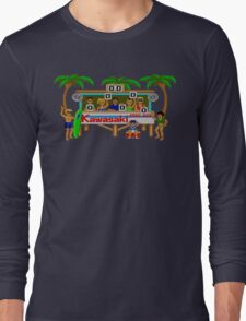 CALIFORNIA GAMES - SURF FAIL - MASTER SYSTEM Long Sleeve T-Shirt