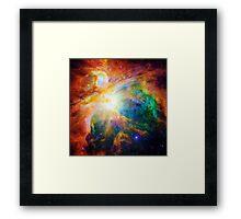 Heart of Orion Nebula | Infinity Symbol | Fresh Universe Framed Print