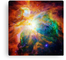 Heart of Orion Nebula | Infinity Symbol | Fresh Universe Canvas Print