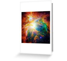 Heart of Orion Nebula | Infinity Symbol | Fresh Universe Greeting Card