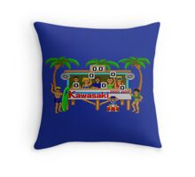 CALIFORNIA GAMES - SURF FAIL - MASTER SYSTEM Throw Pillow