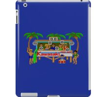 CALIFORNIA GAMES - SURF FAIL - MASTER SYSTEM iPad Case/Skin
