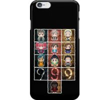 9 sprites 9 persons 9 pixels iPhone Case/Skin