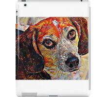 Beagle - A Portrait in Oil iPad Case/Skin