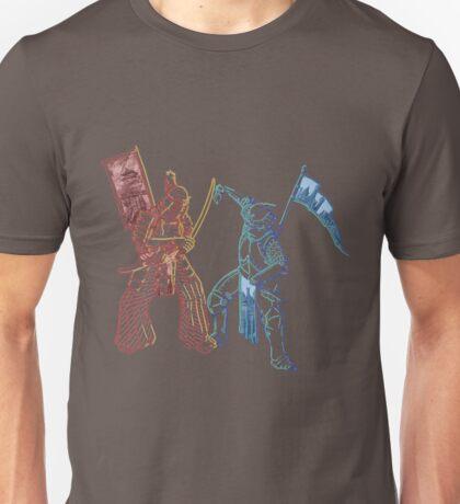 Samurai & Chevalier Unisex T-Shirt