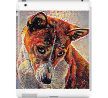 Basenji - A Portrait in Oil iPad Case/Skin