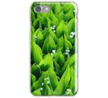 Lily of the valley ~ Mayflowers iPhone Case/Skin
