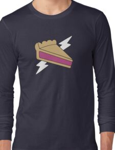 PIE MAN SUPER HERO Long Sleeve T-Shirt