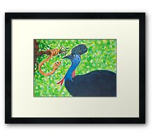 Australian Animals Framed Print