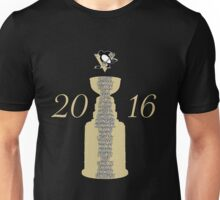 Pittsburgh Penguins Stanley Cup Champs 2016 Unisex T-Shirt