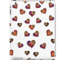 Hearth choco iPad Case/Skin