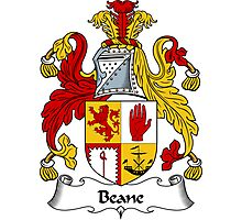 Beane Coat of Arms / Beane Family Crest Photographic Print