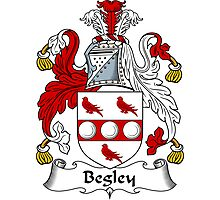Begley Coat of Arms / Begley Family Crest Photographic Print